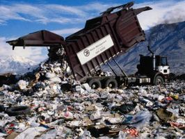 Quali sono alcuni problemi ambientali che provoca Garbage?