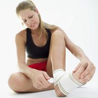 Persistente caviglia edema a causa di malattie cardiache