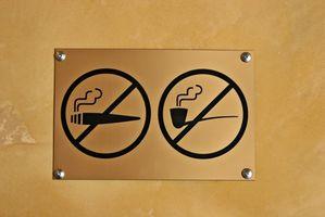 California State leggi in materia di pubblica Smoking