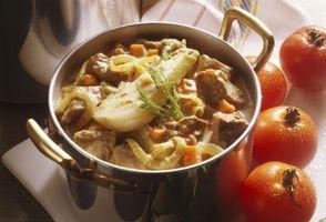Fa Mettere una patata in Stew Take Away ogni eccesso di sale?