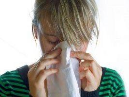 Le allergie che causano problemi del seno