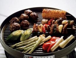 Condimenti vegetali alla griglia