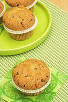 Informazioni nutrizionali per il cioccolato Whole Foods Vegan Muffin
