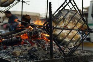 Tre regole culinarie di grigliate di pesce