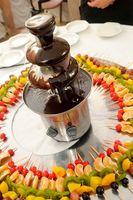 Chocolate Fountain Idee Bar