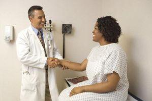 Segni e sintomi di Dermoid cisti ovariche