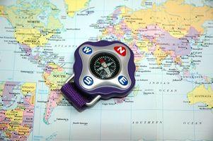 Come misurare Internazionale Distanze tra due città