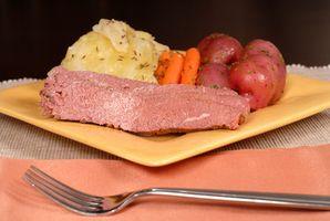 Come tagliare il gusto salato in Corned Beef