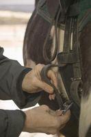 Come passeggiata a cavallo con una protesi gamba