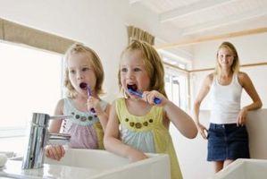 Lavarsi i denti Istruzioni per bambini