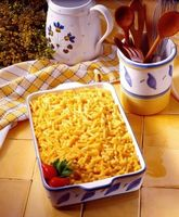 Come mantenere Macaroni & Cheese dall'ottenere Sgranata durante il riscaldamento