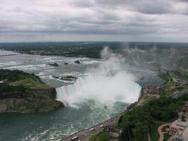 Come scattare foto di Cascate del Niagara