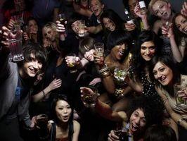 Gli effetti dell'alcol sul corpo di un teenager