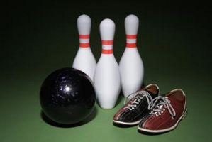 Mantenere la palla da bowling Vicino alla caviglia