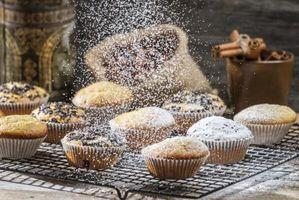 Come Polvere Dolci Con Zucchero a velo