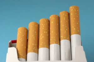 Ingredienti in sigarette alle erbe