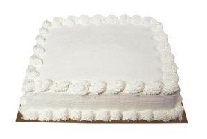 Come utilizzare un foglio di zucchero su una torta