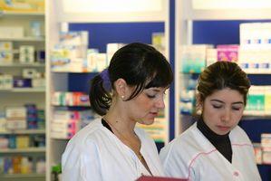 Gamma stipendio per un tecnico della farmacia in Ontario, Canada