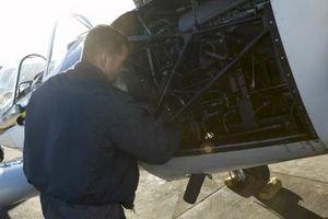 Come rimuovere la corrosione da parti in magnesio per aerei