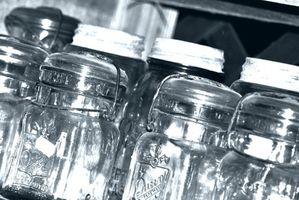 Homemade cibo Miscele per Canning Jars