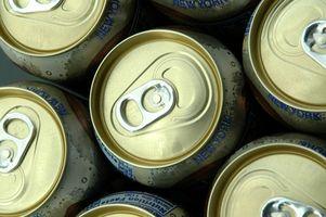 Come funziona una lattina di Coca evapora senza essere aperte?