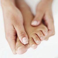 Capillari rotti sui piedi