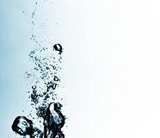 Come dividere una bottiglia d'acqua in 70 milligrammi