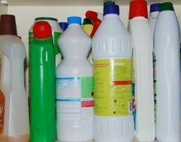 Effetti della Household cloro Bleach in acque reflue
