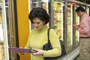Gli ingredienti artificiali negli alimenti