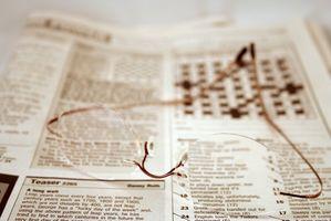 Ingrandimento Varietà di vetro per lettura giornale
