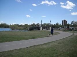 Percorso a piedi il lago di Sloan a Denver