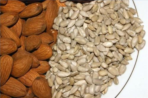 Gli alimenti con vitamina E