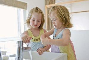 Le fasi del lavaggio delle mani