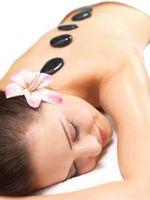 Definizione di Riscaldata Stone Massage
