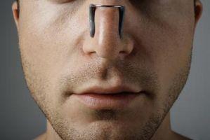 Come impostare un naso rotto