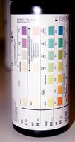 Colore di strisce per urina chetosi
