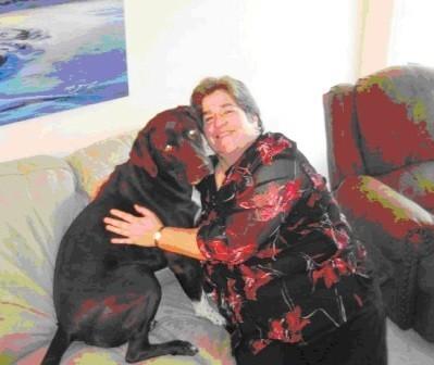 Adozione cane potrebbe alleviare il dolore del cancro della donna
