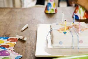 Come tagliare una torta foglio in Lettere