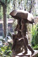 L'uso di ombrelloni regolari per la protezione UVA
